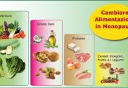 Cambiare Alimentazione in Menopausa