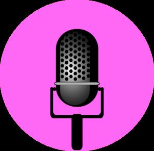 microfono fucsia